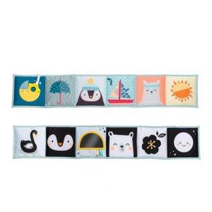 textilna knizka taf toys