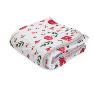 Mušelínová deka Summer Poppy