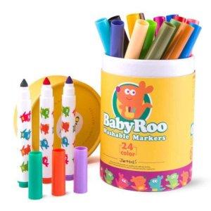 umyvatelne-fixky-24ks-washable-markers-baby-roo-jar-melo-JA90497-01-500x500