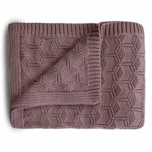 Mushie-pletena-detska-deka-z-organickej-bavlny-vzorkovana-Desert-Rose